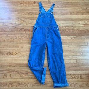 Vintage 90's L GAP Blue Denim Jean Overalls